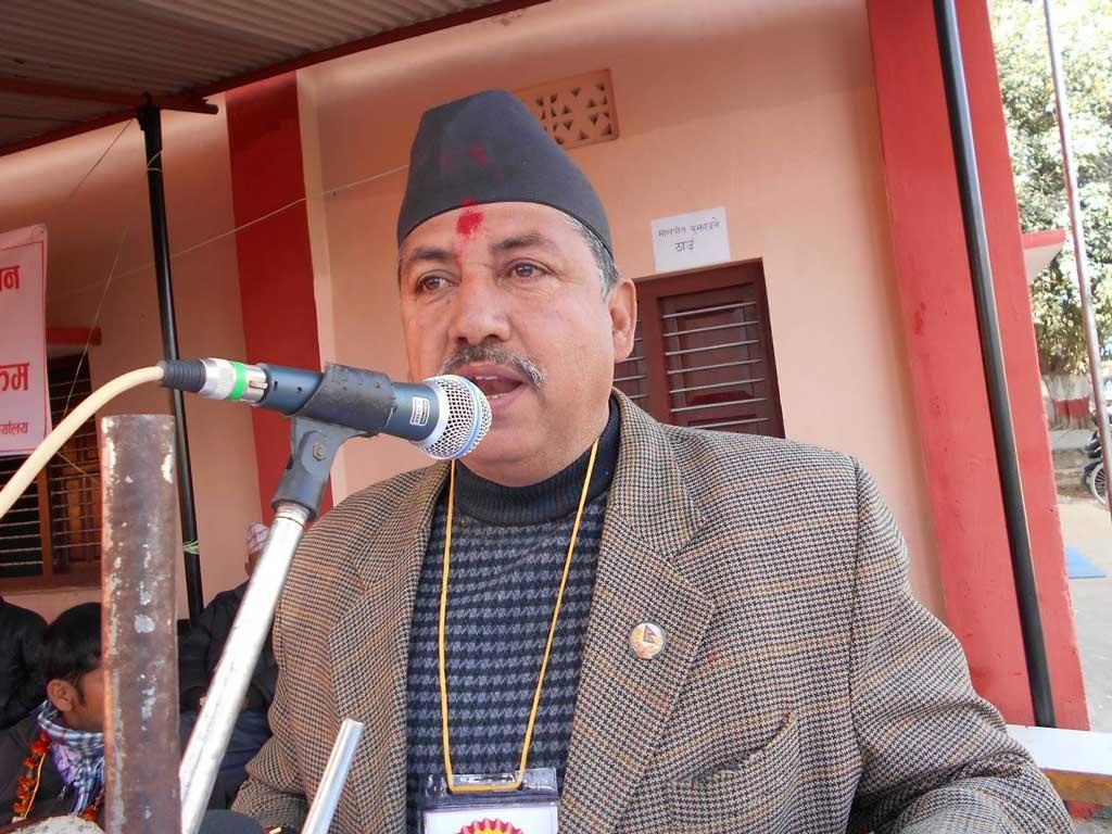 जनादेश अनुसार प्रतिपक्षको भूमिकामा बस्छः सिँचाईमन्त्री गौतम