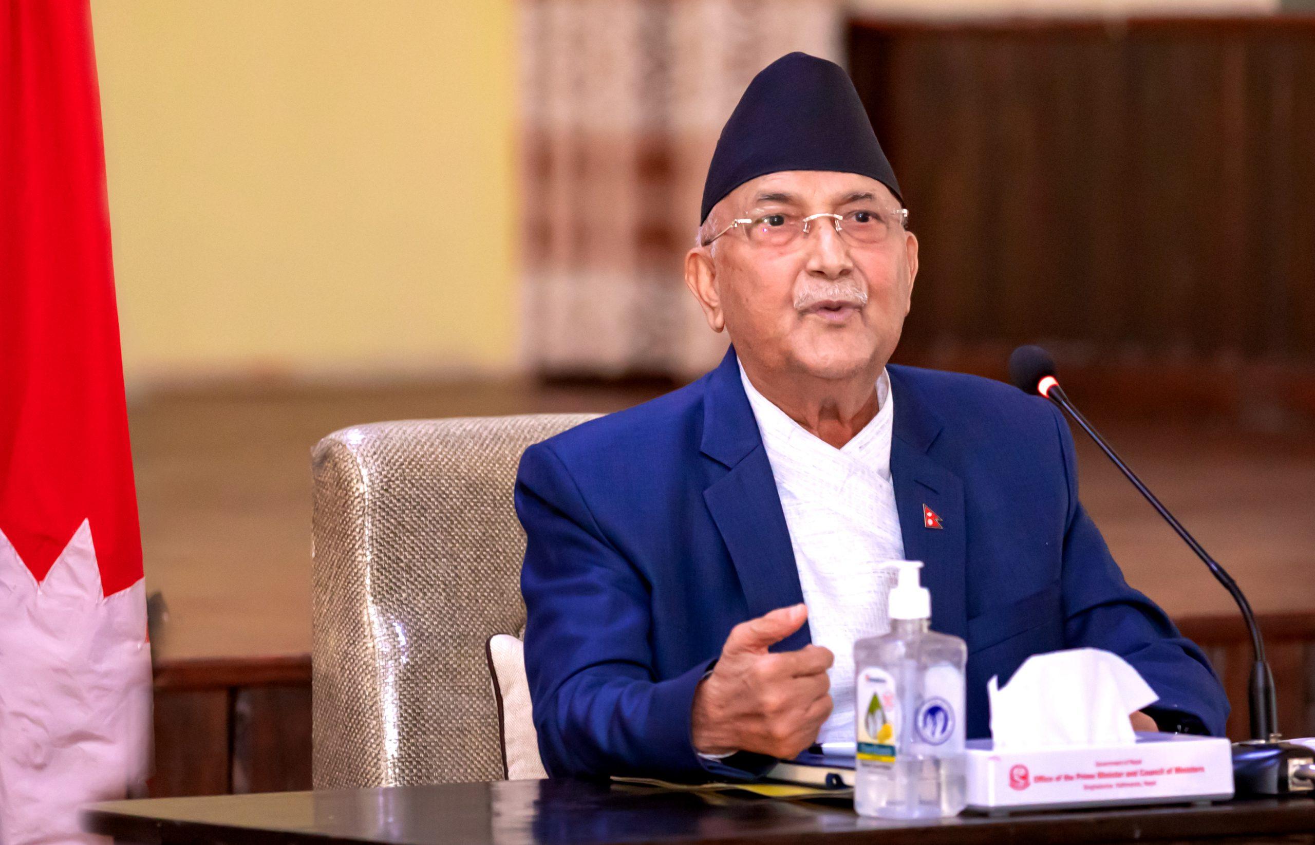 ओली-नेपाल भेटवार्ताः समानान्तर गतिविधि नगर्न ओलीकाे चेतावनी