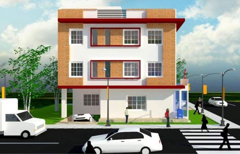 भरतपुर महानगरपालिका-५ को वडा कार्यालय भवन शिलान्यास