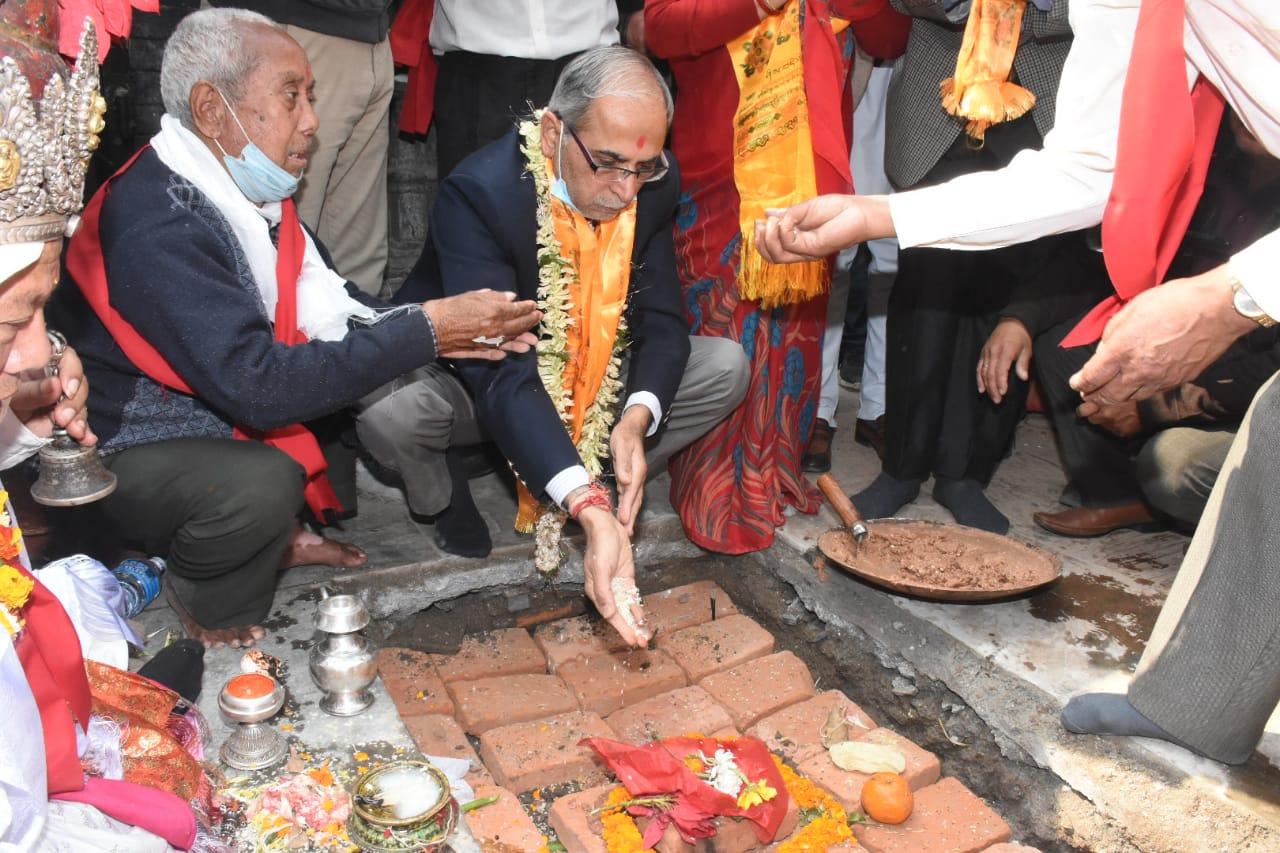सेतो मच्छिन्द्रनाथ मन्दिरको पुनःनिर्माण शुरु