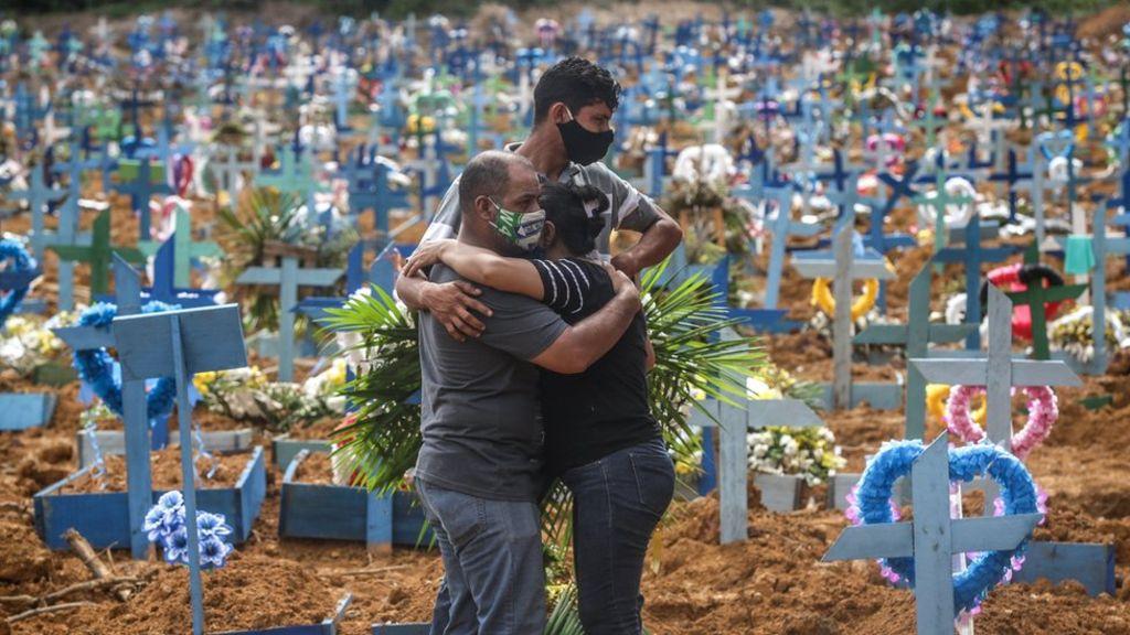 ब्राजिलमा दैनिक १ हजार भन्दा बढीको कोरोना सङ्क्रमणबाट मृत्यु