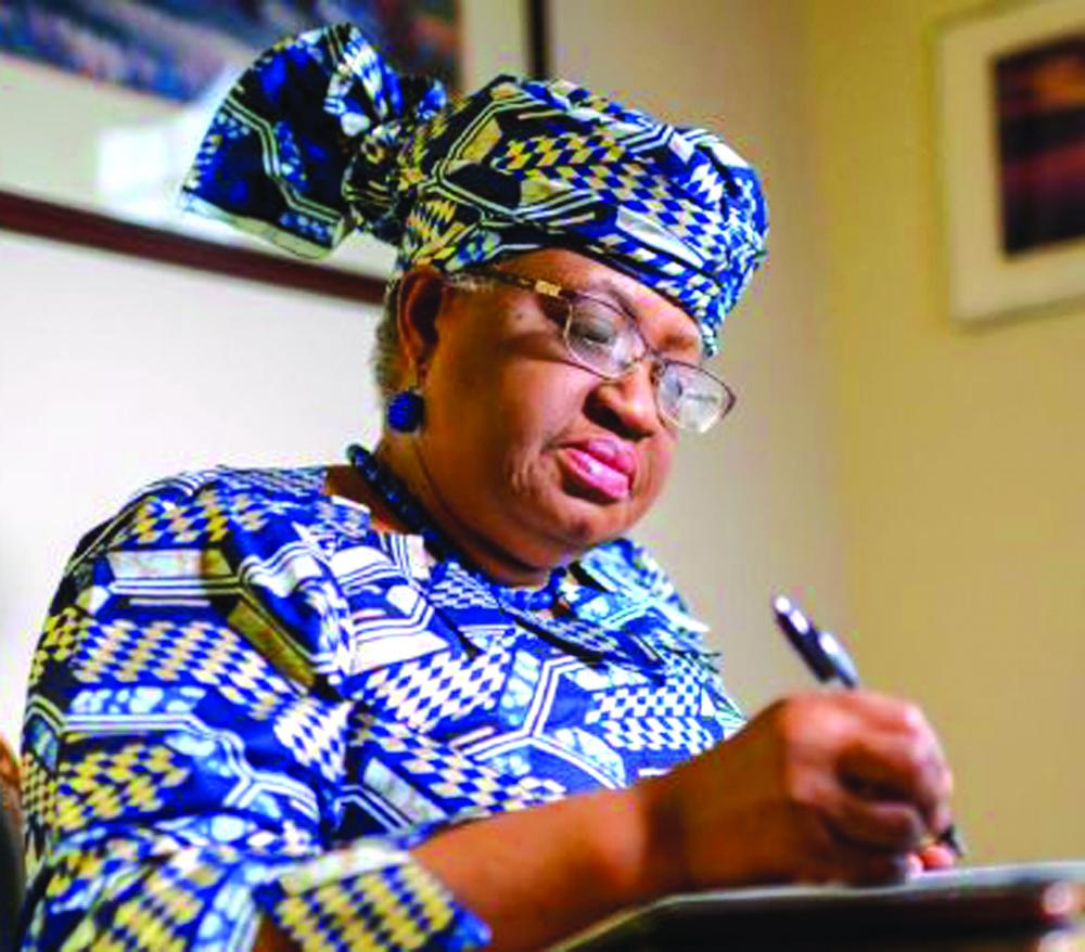 विश्व व्यापार संगठनको प्रमुखमा नाइजेरियाकी ओकोन्जो नियुक्त