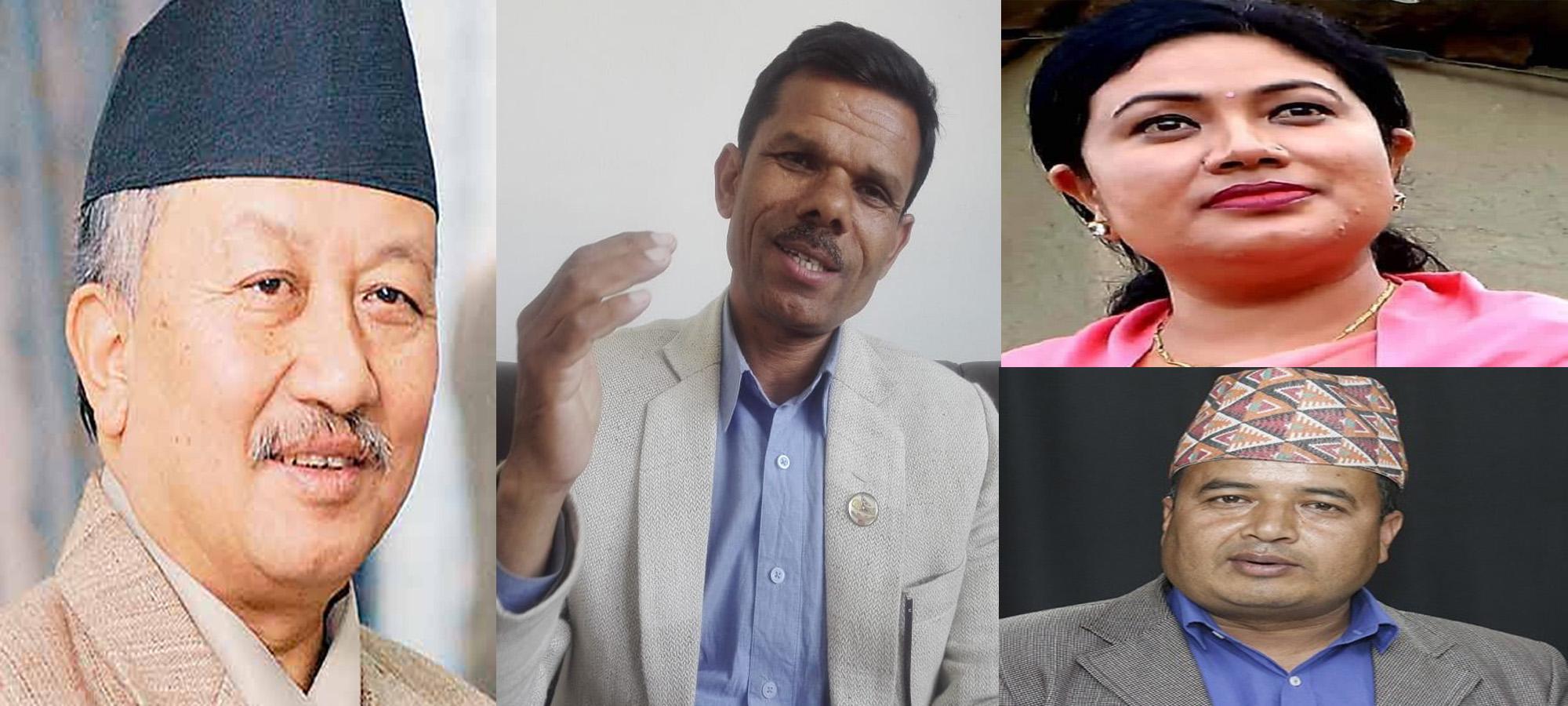 प्रचण्ड–माधव समूहद्वारा नेकपा संसदीय दलका उपनेता नेम्वाङसहित ७ नेता निलम्बन