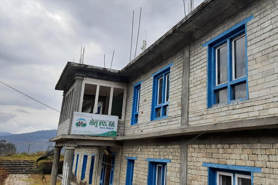 सामुदायिक रेडियो सोलु एफएमको कार्यालयमा आगलागी