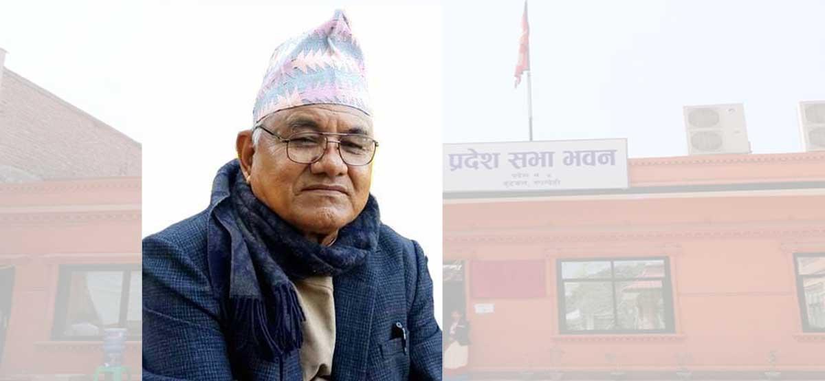 लुम्बिनी प्रदेशसभाका सदस्य अमरबहादुर  डाँगीले दिए राजीनामा