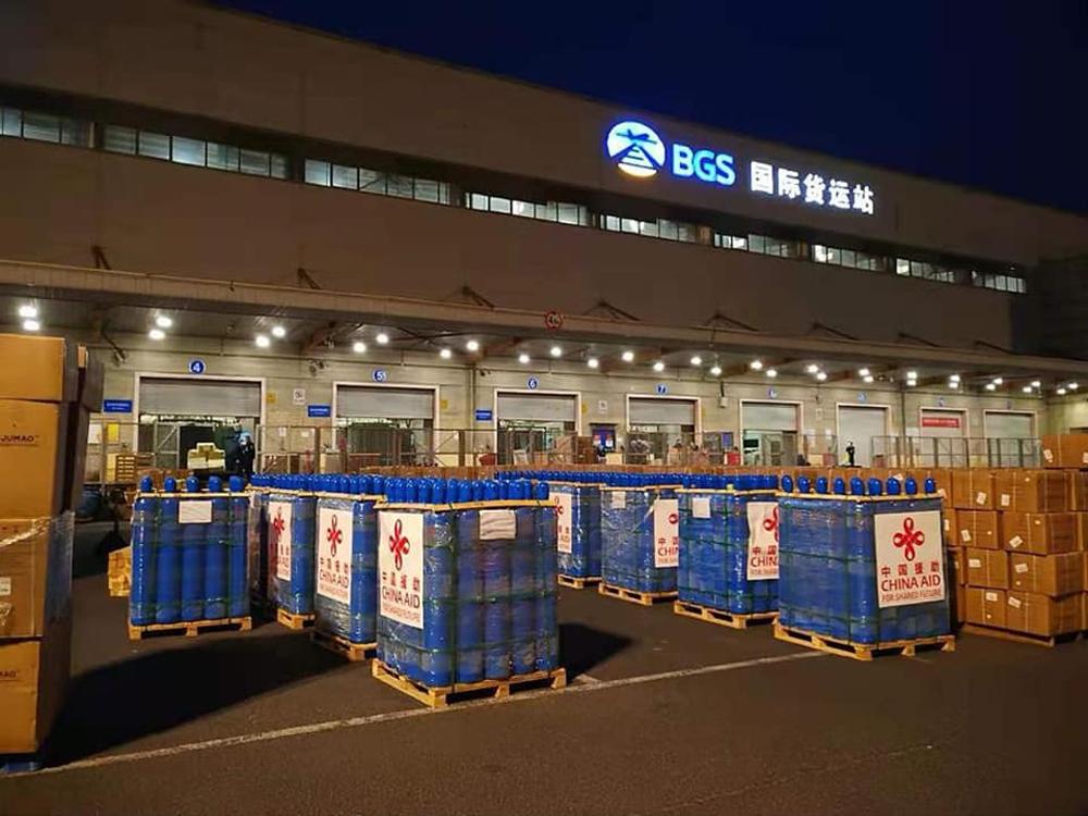 चीन सरकारले दिएका अक्सिजन सिलिण्डर ताताेपानी आइपुग्दै