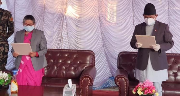 गण्डकी प्रदेशको मुख्यमन्त्रीमा एमालेका गुरुङ पुनः मुख्यमन्त्रीमा नियुक्त
