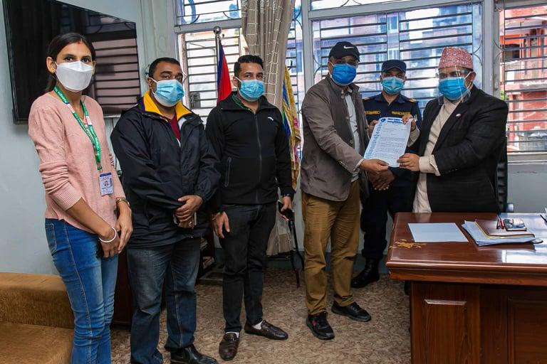 बागमती प्रदेश सरकारको निणर्य सच्याउन पत्रकार महासंघ काठमाडौंको माग