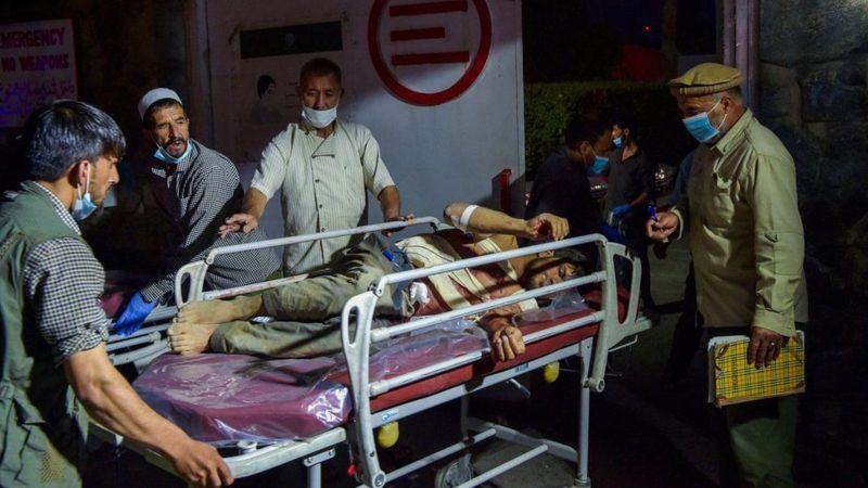 काबुलस्थित अन्तर्राष्ट्रिय विमानस्थलबाहिर भएको विस्फोटमा ६० भन्दा बढीको मृत्यु