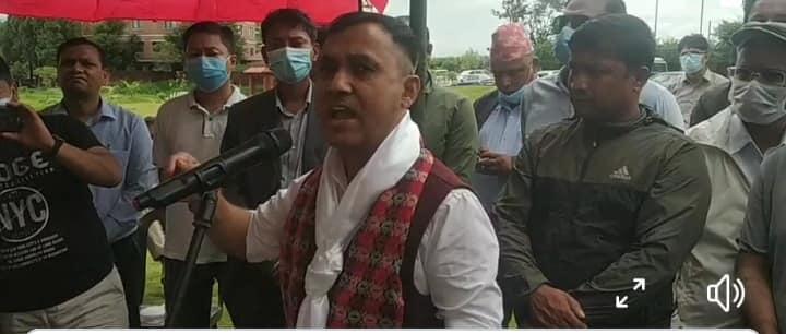कांग्रेस प्रवक्ता विश्वप्रकाश शर्माद्वारा महामन्त्रीको उम्मेदार बन्ने घोषणा (भिडियाे)
